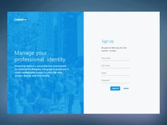 Linkedin Redesign Concept by hareesh