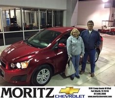 THIS IS THE SECOND CAR WE PURCHASED FROM AUGUSTINE HERE AT MORITZ AND WE WILL KEEP COMEING BACK TO HIM.WE CALLED HIM AND TOLD HIM WHAT WE WERE LOOKING FOR. HE CALLED US BACK SAID HE HAD THE RIGHT SONIC FOR US,WE CAME IN EVERYTHING WAS RIGHT.WE WERE IN AND OUT, WE LOVE THE EXPERIENCE. WE WILL DEFINITLY BE BACK. - Antonia Cardona, Tuesday, January 06, 2015 http://www.moritzchevrolet.com/?utm_source=Flickr&utm_medium=DMaxxPhoto&utm_campaign=DeliveryMaxx