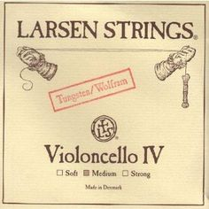 Larsen Cello C String - Medium Gauge by Larsen. $88.18. Larsen Cello C StringTungsten core