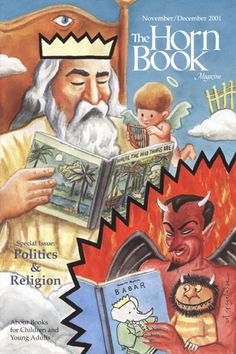 November/December 2001 Horn Book Magazine Special Issue: Politics & Religion; original cover art by Art Spiegelman