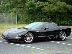 2001 Black Corvette Z06 - 1,819 units