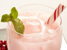 Candy Cane Cooler Recipe : Food Network - FoodNetwork.com