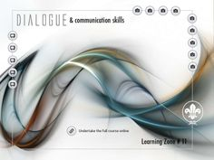 Dialogue skills and e-learning course Web E, Learning Courses, Communication Skills, Tutorials, Ideas, Thoughts, Wizards