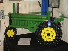 john deere made out of beer cans | Beer Can Tractor | Flickr - Photo Sharing!
