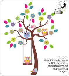 Vinilo Decorativo Infantil Grandes Y A Colores - $ 379,99 en MercadoLibre