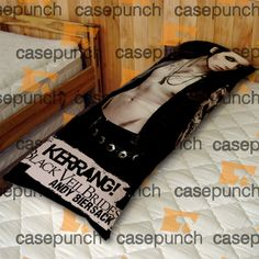 An4-black Veil Brides Andy Rock N Roll Body Pillow Case