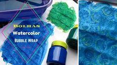 Watercolor Lifting - Bubble Wrap - Livro de Colorir | Luciana Queiróz