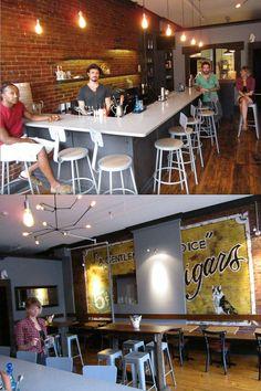 Vera's Pizzeria- hidden gem on Lexington.  Amazing drinks & creative dishes