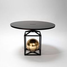 Contrepoids Table, Version I | From a unique collection of antique and modern coffee and cocktail tables at https://www.1stdibs.com/furniture/tables/coffee-tables-cocktail-tables/