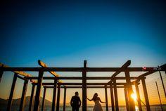 """Before the sun goes down at Halkis"" Φωτογράφιση γάμου, Φωτογραφία γάμου, Φωτογράφος γάμου, Greek wedding photographer, Next day shooting, Γάμος Χαλκίδα, www.redboxstudio.gr"