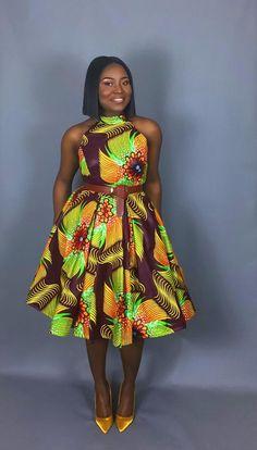 La clé de la grande chambre est de trouver quelque chose d'un peu différent qui va à l'air magnifique juste sur vous .finding une robe dans une couleur wow et beau motif comme ce licol cou robe plissée sera vraiment montrer que vous avez l'intention d'éclairer de tout le monde nuit ainsi