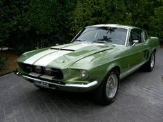 1967 Shelby GT500, dated a guy in high school who drove one of these hot babies!