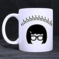 Artsadd Fashion Quotes Mug Tina Belcher Bobs Burgers Quotes 11 Ounce White Ceramic Coffee Tea Mug Cup