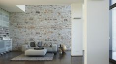 Architects Paper Photo Wallpaper Naturstein 6 470432; Virtual Image Of The  Wall