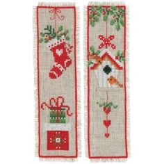 Russian Cross Stitch, Cross Stitch Beginner, Cross Stitch Bookmarks, Counted Cross Stitch Kits, Disney Cross Stitch Patterns, Cross Stitch Designs, Christmas Cross, Christmas Stocking, Xmas