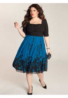 Plus Size Averie Dress I dunno, I like it but the neckline might be a bit too low.