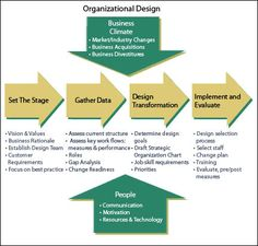 Organizational Design & Organizational Development Chart