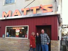 Matt's Bar in south Minneapolis. Home of the Jucy Lucy.