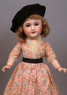 """Fabulous 16"""" Factory Original UNIS 301 French Antique Doll, A Real Darling!"""
