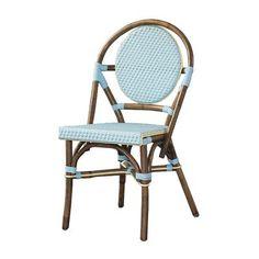 Outdoor Cottage Paris Bistro Fabric Side Chair Color: Blu... https://www.amazon.com/dp/B00A81B2JY/ref=cm_sw_r_pi_dp_x_OEUBzb20X2X3B