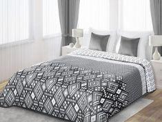 Přehoz na postel ALFONSO 220x240 cm stříbrná Mybesthome