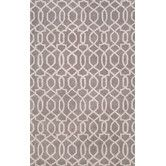 Found it at Wayfair - City Gray / Ivory Area Rug