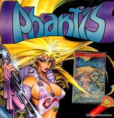 PHANTIS (1987) Amstrad CPC 464 / 6128 / Dinamic