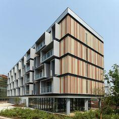 Passivhaus-Wohngebäude bei Schanghai von Peter Ruge Architekten