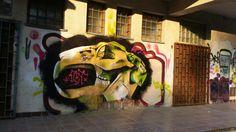 graffiti character rabbit x)