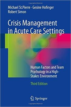 Crisis Management in Acute Care Settings Pdf Download e-Book