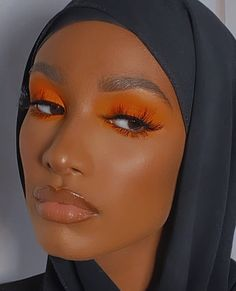 Makeup Eye Looks, Pretty Makeup, Eye Makeup, Amazing Makeup, Brown Skin Makeup, Dark Makeup, White Makeup, Black Girl Makeup, Girls Makeup