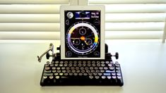 Querkywriter is a vintage typewriter keyboard for tablets. Yes, we need this on our desks, stat.