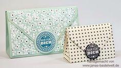 Janas Bastelwelt - Independent Stampin 'Up! Demonstrator: Video tutorial: Envelope Punch Board Bag small
