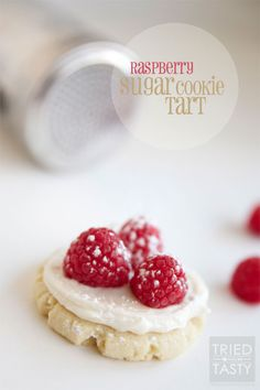 Raspberry Sugar Cookie Tart | Tried and Tasty