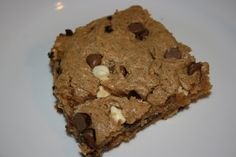 A Year of Slow Cooking: CrockPot Peanut Butter Brownies Recipe