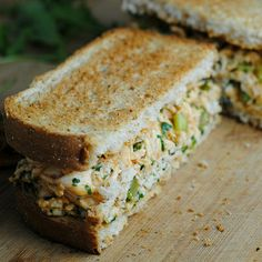 Buffalo Chicken Salad Sandwich