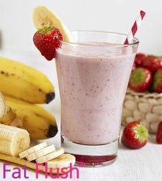 Strawberry Banana- Official Fat Flush Recipe