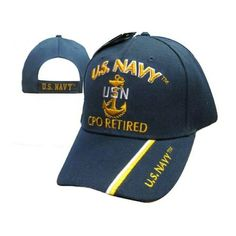 9f1afeb5f21 United States Navy Chief Petty Officer Retired Cap