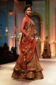 Mandira Wirk. India Bridal Fashion Week, 2013. https://www.facebook.com/beautagonal