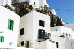 House in Chora Serifos, Greece