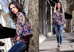 Kimono Top, Street Style, Blouse, Tops, Women, Fashion, Spring Summer 2016, Moda, Urban Taste