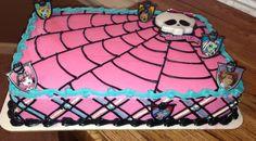 Monster high birthday cake                              …