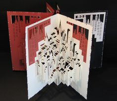 Ingrid Siliakus: paper architecture http://thestudio325.blogspot.co.uk/2012/07/ingrid-siliakus-paper-architecture.html