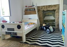 La chambre de Jo d'esprit garage
