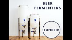 Malt Mechanics is raising funds for Beer Fermenters for Home Brewing on Kickstarter! Available in Quarter Barrel and Half Barrel for home brewing. Wine Cocktails, Cocktail Recipes, Home Brewing Equipment, Barrel, Beer, Plastic, My Favorite Things, Root Beer, Ale