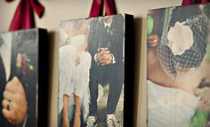 Customized wooden photo boards