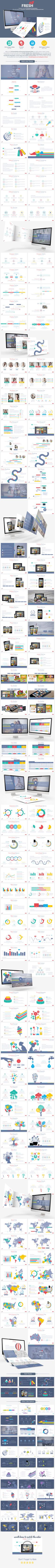 Fresh Powerpoint Presentation (PowerPoint Templates) preview