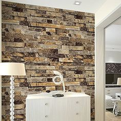 Brick Wall Wallpaper Embossed Textured For Any Room - anoninterior