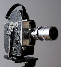Got one of these back in the early 90s. Still have it - Bolex 16mm. How sexy.