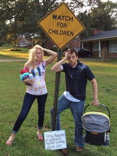 Here are 40 funny pregnancy announcement ideas that put the fun back in revealing the big pregnancy news to family and friends.
